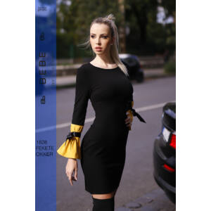 ruha 1828 fekete-okker