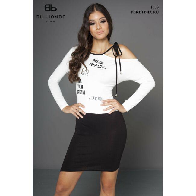 ruha 1573 fekete-ecrü