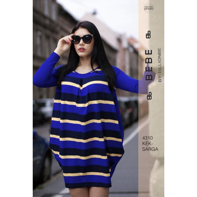 ruha 4310 kék-sárga
