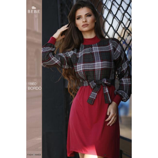 ruha 1860 bordó