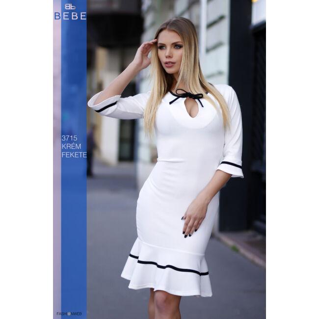 ruha 3715 krém-fekete