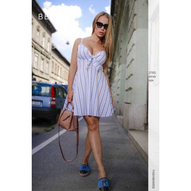ruha 3765 fehér-kék