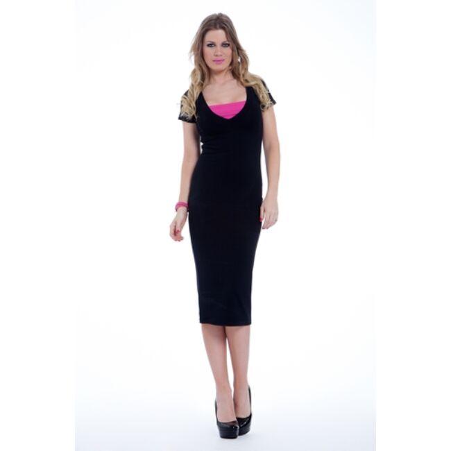Női ruha 1366 fekete
