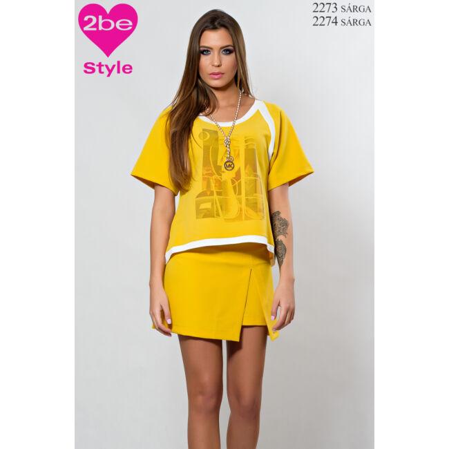 Felső 2273 sárga