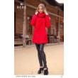 kabát 8541 piros