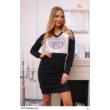 ruha 5618 szürke-fekete