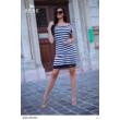 8232 Marina ruha fekete-fehér