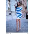 8232 Marina ruha v.kék-fehér