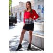 8310 Regina ruha piros-fekete