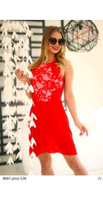 ruha 8661 piros