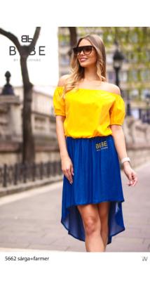 ruha 5662 sárga+farmer