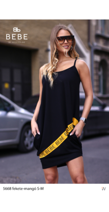 ruha 5668 fekete-mangó