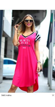 ruha 5665 málna-fekete
