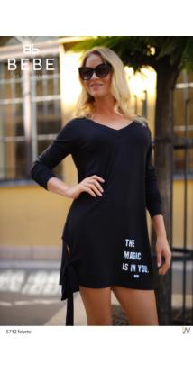 Zoé ruha fekete