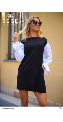 ruha 5715 fekete-fehér