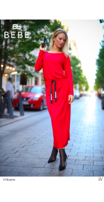 Cool ruha piros