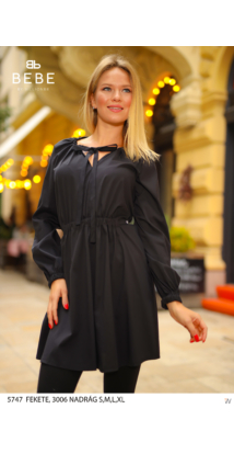 Manna ruha fekete