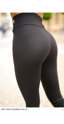 nadrág 3007 fekete