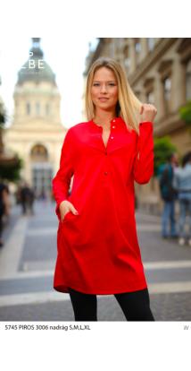 Magdi ruha piros
