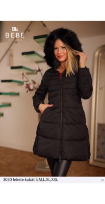 kabát 3030 fekete