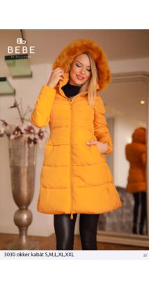 kabát 3030 okker