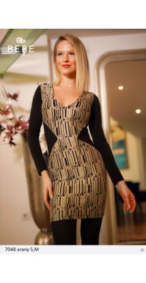 ruha 7048 arany-fekete