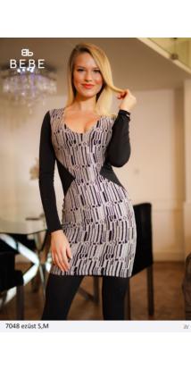 ruha 7048 ezüst-fekete