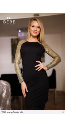 ruha 7049 arany-fekete
