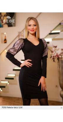 ruha 7050 fekete-bézs