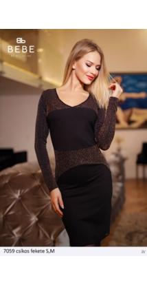 ruha 7059 csíkos-fekete