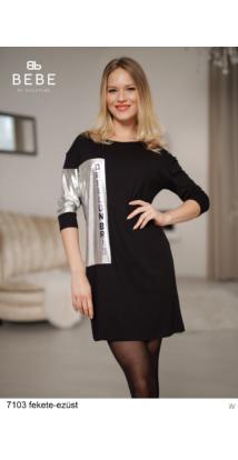 7103 Valéria ruha fekete-ezüst