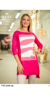 Rella ruha 7121 pink-vaj