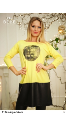 Frida ruha 7124 sárga-fekete