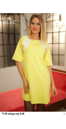 Bora ruha 7125 sárga-vaj