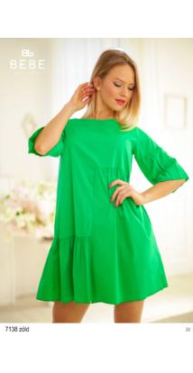7138 Rita ruha zöld