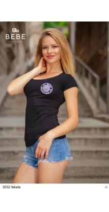 3032 Basic póló fekete