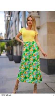6002 Sofia ruha citrom