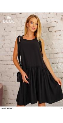 6003 Silky ruha fekete