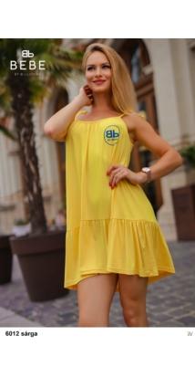 6012 Vera ruha sárga