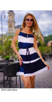 6014 Lory ruha s.kék csíkos