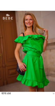 6016 Nelli ruha zöld