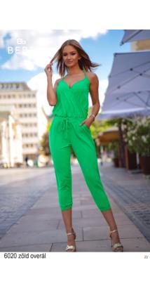 6020 Petra overall zöld