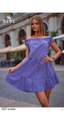 6021 Lolita ruha kockás