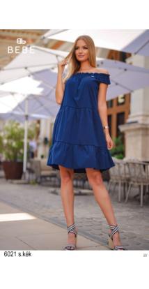 6021 Lolita ruha s.kék