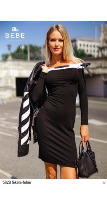 5828 Zoé ruha fekete-fehér