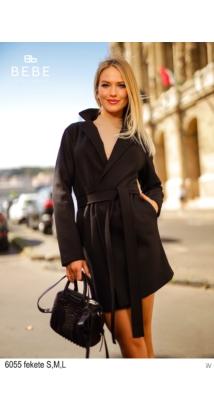 6055 Cecil kabát fekete