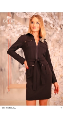 6061 Kory ruha fekete