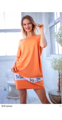 8216 Szonja ruha narancs