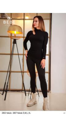 2807 Alina nadrág fekete