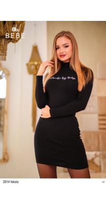 2814 Lilla ruha fekete